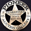 Pioneer Presents Estate & Collectibles Auction