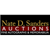 Nate D. Sanders Entertainment, Sports and Presidential Auction Ending September 25th at 5pm Pacific.