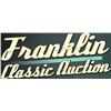 Franklin Classic Auction June 29-30, 2019
