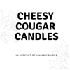 Cheesy Cougar Candles in support of Hilinski's Hope