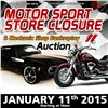 Motorsport Store Closure & Mechanic Shop Bankruptcy Auction
