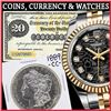 2000+ Items Banknotes, Coins & Fine Jewelry!