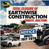 KASTNER AUCTIONS -ONSITE- EARTHWISE CONSTRUCTION AUCTION