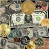 2000+ Items Gold & Silver Coins, Paper & Jewelry!