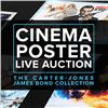 Cinema Poster Live Auction - Carter-Jones Bond Collection