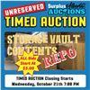 Storage Vault Repo Sale