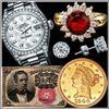 800+ Items- Artwork, Numismatics, Paper & More!