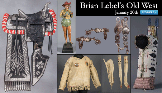 Brian Lebel's Old West Auction - Mesa, AZ.