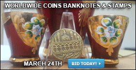WORLDWIDE COINS BANKNOTES  & STAMPS