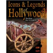Icons & Legends of Hollywood Auction May 15th to 17th from Profiles In History