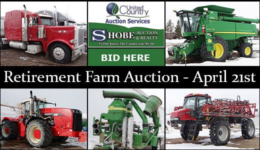 Boyum Farms, Inc. & That Guy's Farm - Retirement Farm Auction