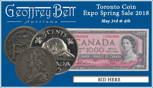 Toronto Coin Expo Spring Sale 2018
