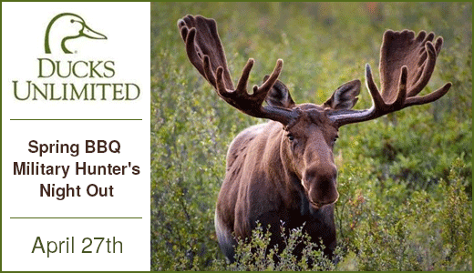 Ducks Unlimited- Spring BBQ / Military Hunter's Night Out