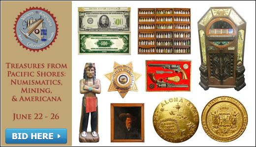 Treasures from Pacific Shores: Numismatics, Mining, & Americana