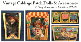 Vintage Cabbage Patch Dolls & Accessories