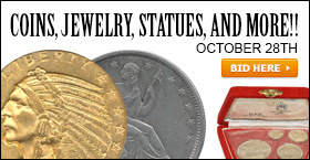 COINS, JEWELRY, STATUES, AND MORE!!