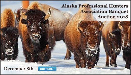Alaska Professional Hunters Association Banquet Auction 2018
