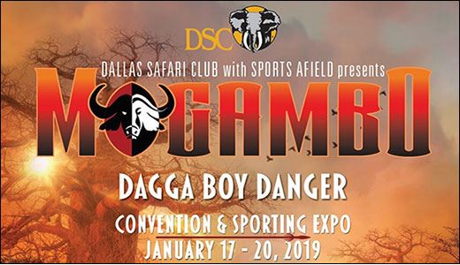 Dallas Safari Club Mogambo 2019