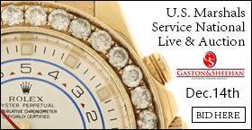 12/14/18 ~ U.S. Marshals Service National Live & Online Simulcast Auction