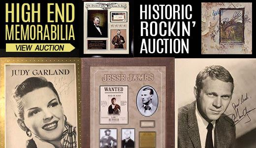High End's Historic Rockin' Auction