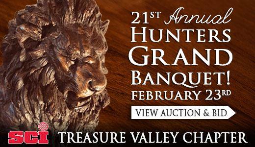 21st Annual Hunters Grand Banquet!