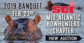 Mid-Atlantic Bowhunters Chapter-SCI 2019 Banquet