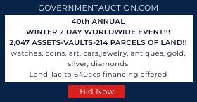 Government Auction Liquidation Sale