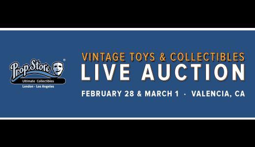 Vintage Toys & Collectibles Live Auction