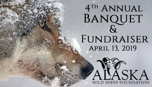 4th Annual Alaska Wild Sheep Foundation Banquet and Fundraiser