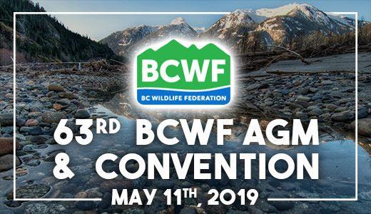 63rd BCWF AGM & Convention