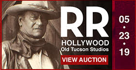 RR Auction: Hollywood Auction Featuring Robert Shelton's Old Tucson Collection