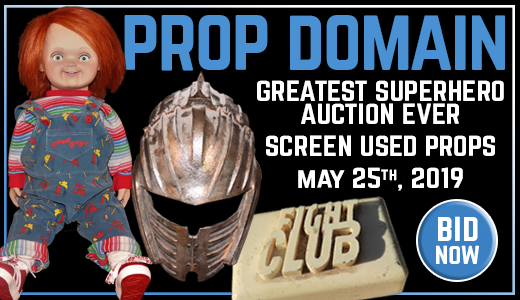 GREATEST SUPERHERO AUCTION EVER SCREEN USED PROPS 92