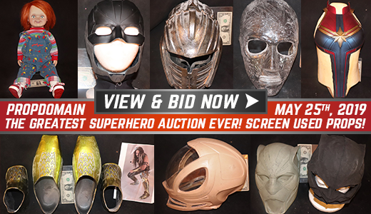 THE GREATEST SUPERHERO AUCTION EVER SCREEN USED PROPS 92
