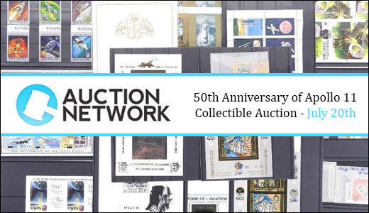 50th Anniversary of Apollo 11 - Collectible Auction