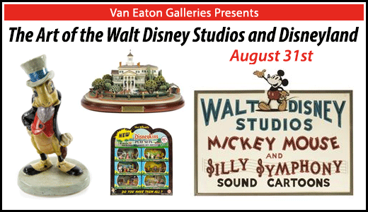 The Art of the Walt Disney Studios and Disneyland