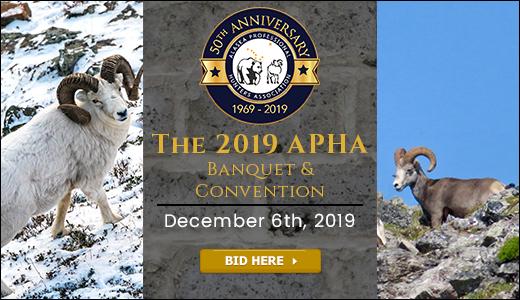 Alaska Professional Hunters Association Banquet Auction 2019