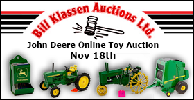 Edwin Demman Estate John Deere Toy Auction