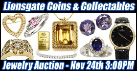 Fine Jewelry, Watches, Diamonds, Gold, Silver, and Platinum Auction