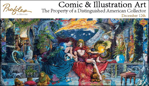Comic & Illustration Art - The Property of a Distinguished American Collector