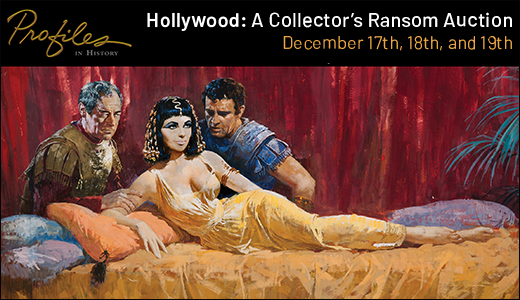 Hollywood: A Collector's Ransom Auction 109