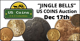 JINGLE BELLS US COINS Auction
