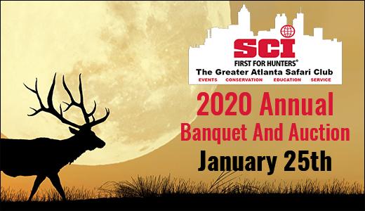 Safari Club International - Greater Atlanta Chapter Banquet 2020