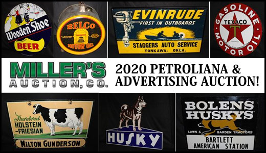 2020 PETROLIANA AND ADVERTISING AUCTION!