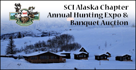 Welcome to SCI Alaska Chapters 44th Annual Hunting Expo &  Banquet Auction Feb 28-29th 2020