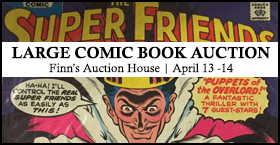 Large Comic Book Auction!