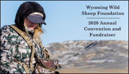 Wyoming Wild Sheep Foundation 2020 Annual Convention and Fundraiser