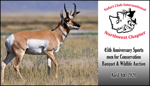 45th Anniversary Sportsmen for Conservation Banquet & Wildlife Auction