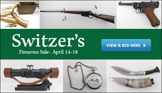 April 2020 Firearms Sale