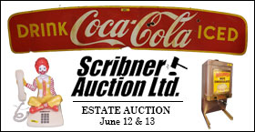 2 Day: JUNE 12th Coin/Currency & June 13th ESTATE AUCTION