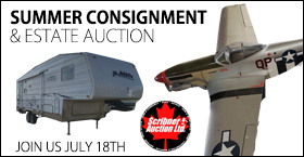 JULY 18th 2020 SUMMER CONSIGNMENT & ESTATE AUCTION